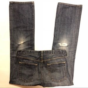 J. Crew Factory Distressed Jeans, size 4 Short
